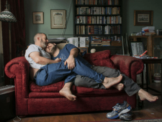 Gay couple to feature on 50 London billboards after winning photo comp