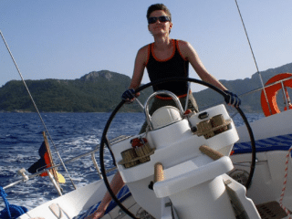 Lesbian escapes Russia by boat and sails to Canada to be with the woman she loves