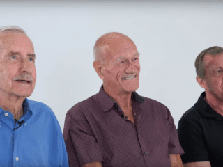 Older gay men try out modern gay slang and it's so delightful