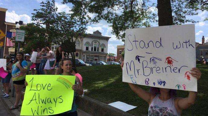 breiner protest