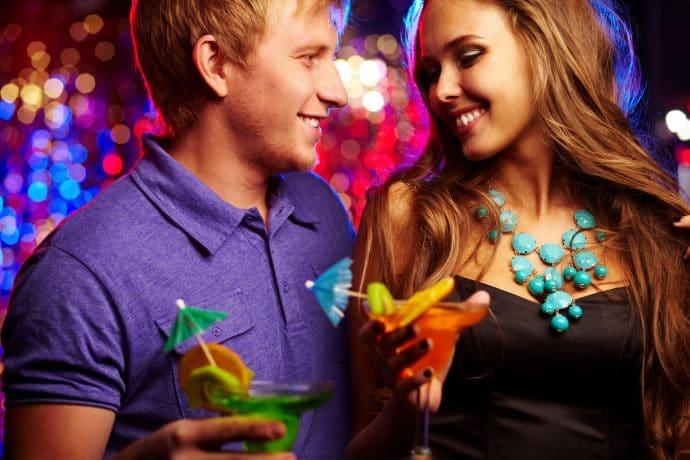 gay in night club