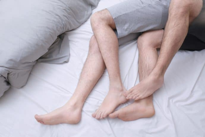 gays in bed