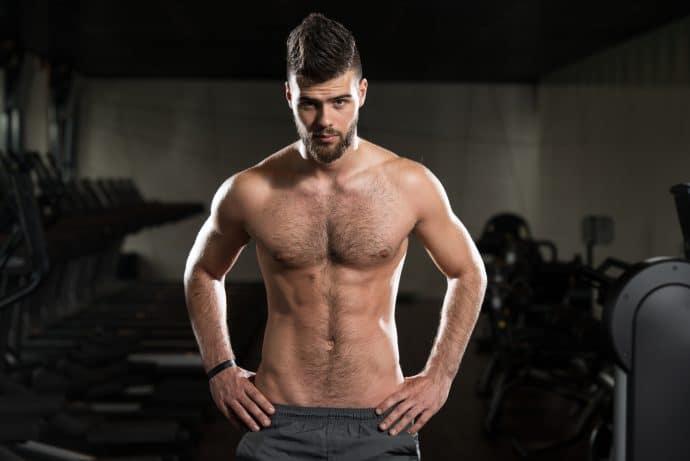 sporty man