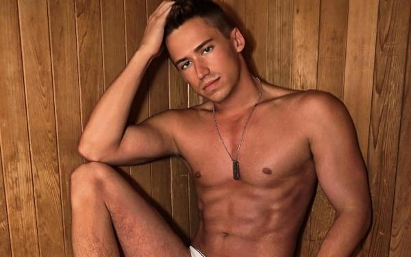 Ben Butler shirtless