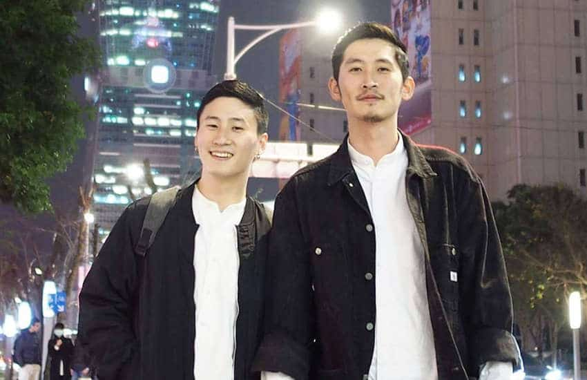 Marc and Shane from Taiwan will be one of the first couples to get legally married in Asia (Photo: Instagram)