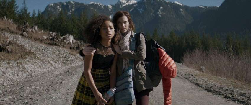Logan Browning and Allison Williams in a scene from The Perfection