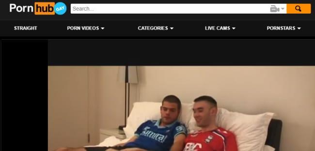 PornHub screenshot