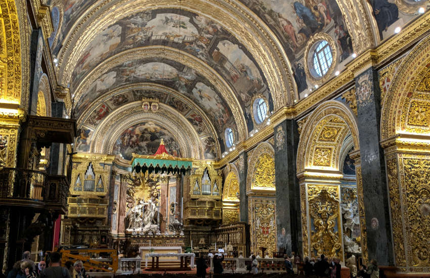 church in malta how to go gozo with friend