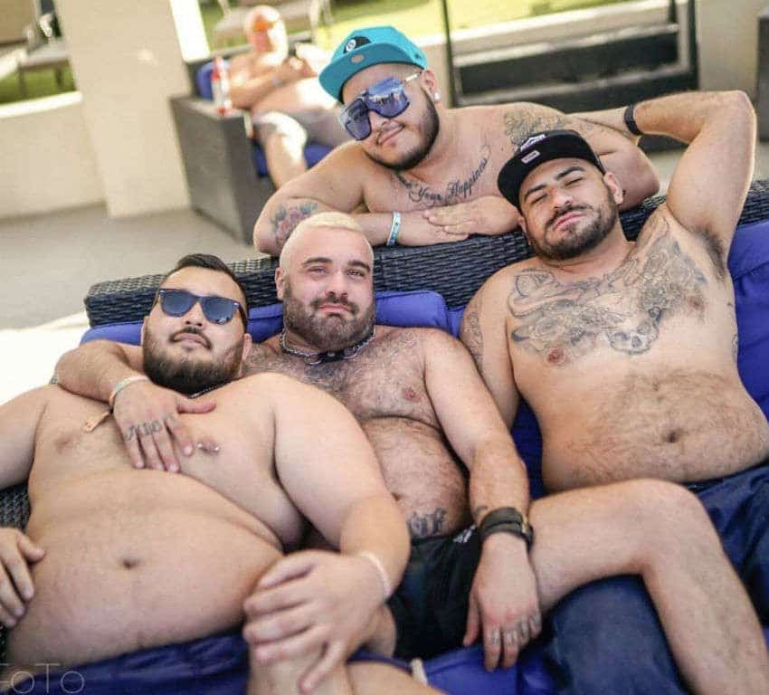 Friends at International Bear Convergence 2019, Palm Springs, Nevada