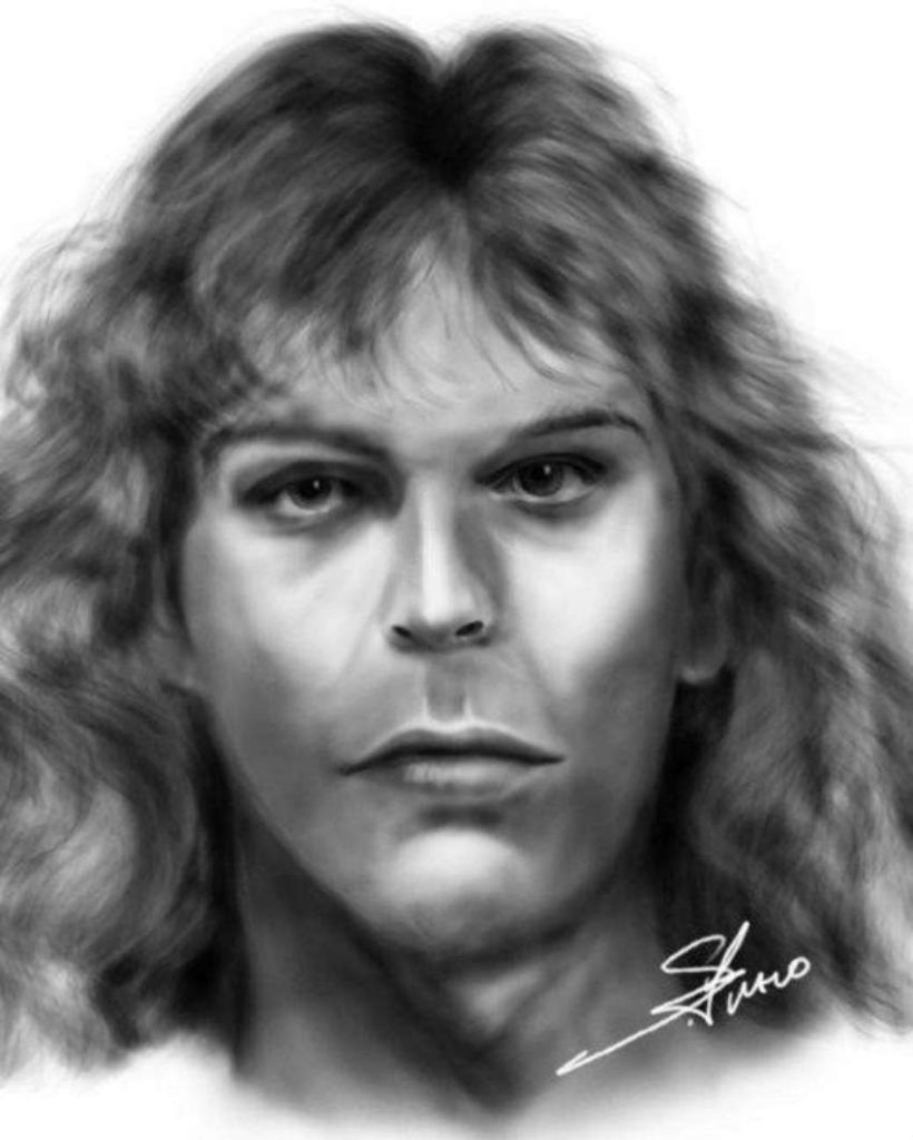 The portrait of Transgender Julie Doe by police artist Stephen Fusco