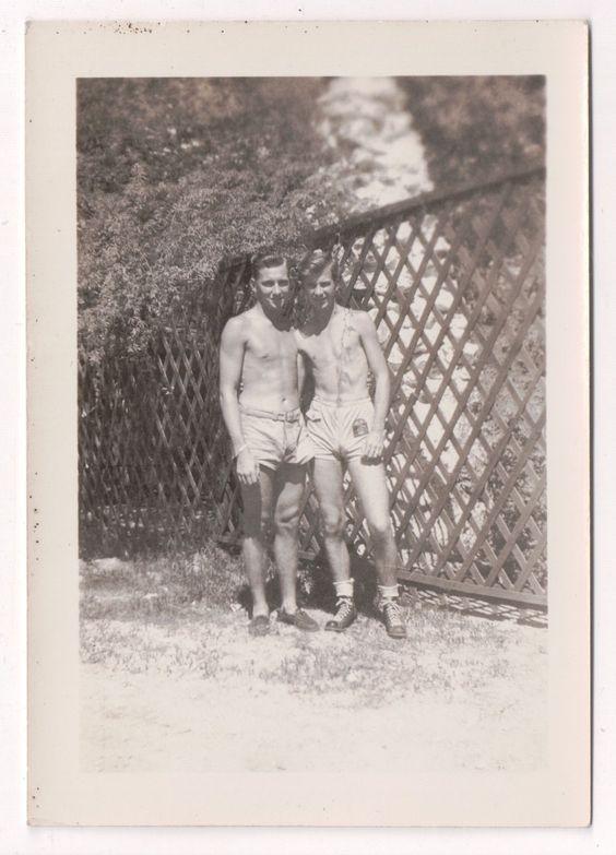 Vintage gay couple