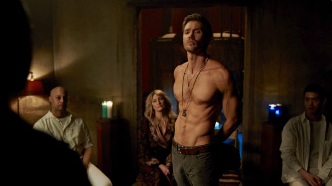 Chad Micheal Murray shirtless riverdale