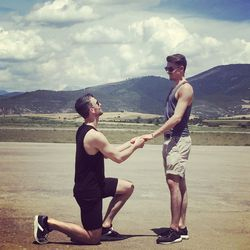Olympic figure skaters Eric Radford and Luis Fenero plan to wed in July 2019.