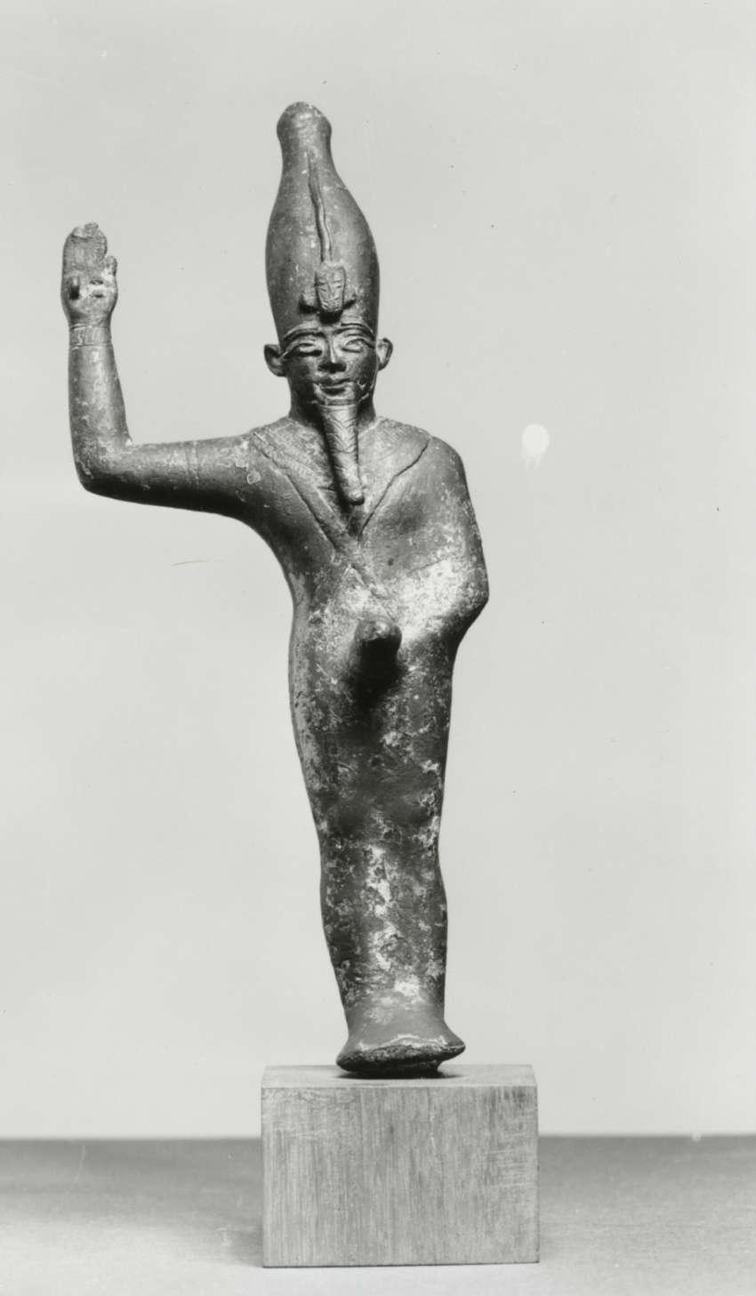 Egyptian_-_Amun-Min-Kamutef_-_Walters_542062