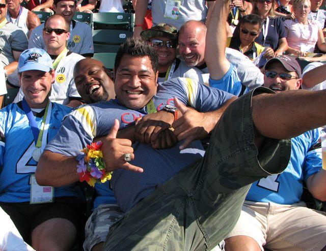 Gay Games 2006 photo gallery, Esera Tuaolo