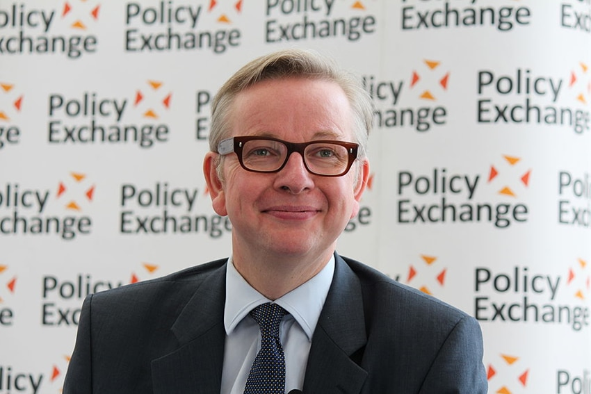 Secretary of State for Justice: Michael Gove MP.