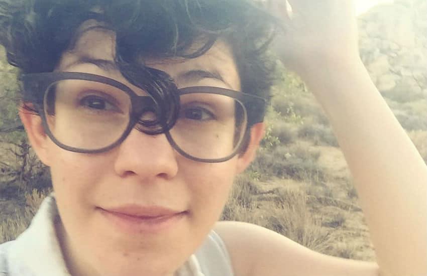 Non-binary animator Rebecca Sugar