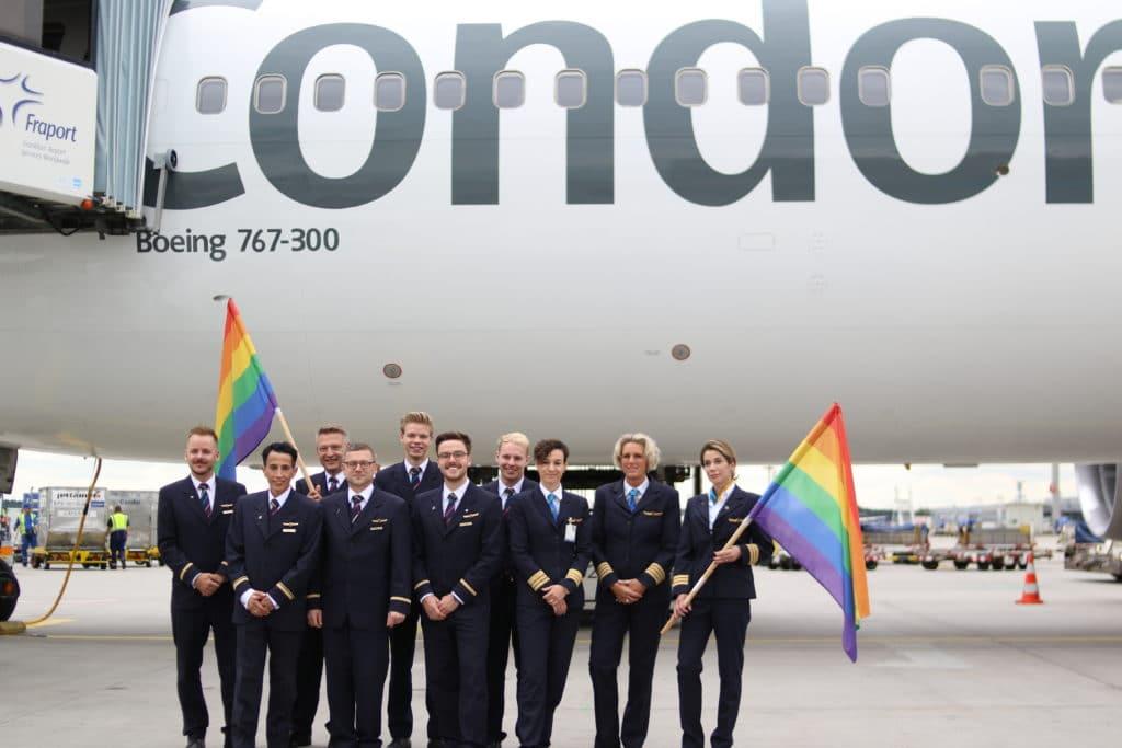 Condor Airlines crew