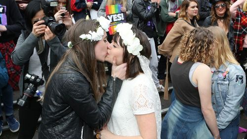 Same-sex couples can now legally marry in Australia.