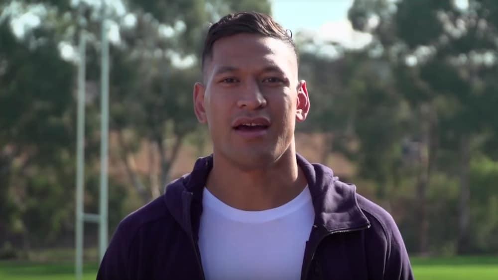 Israel Folau, homophobe, Australia, rugby player