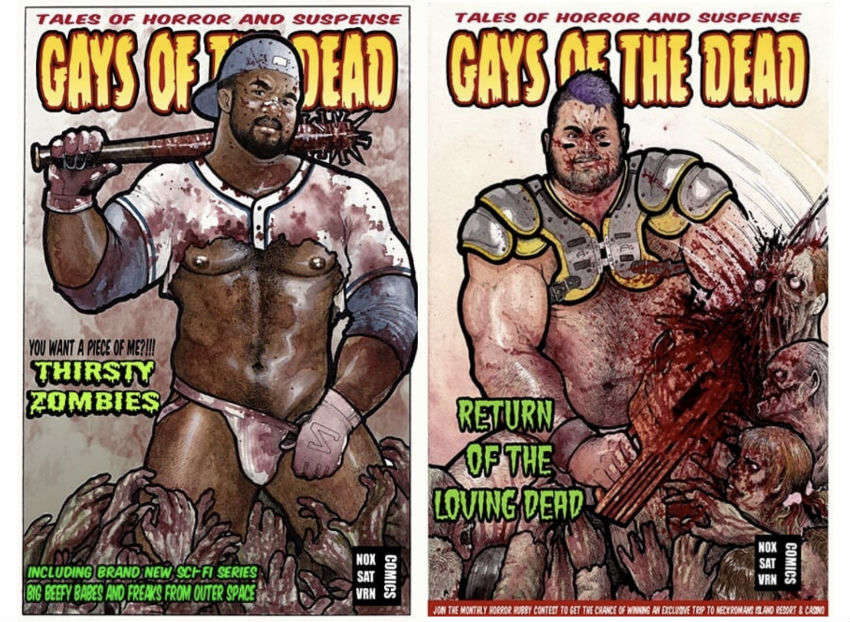 Gays of the Dead artwork