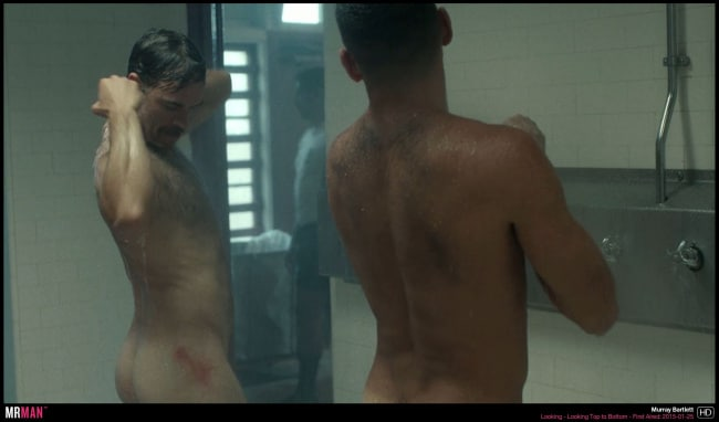Murray Bartlet naked shower looking