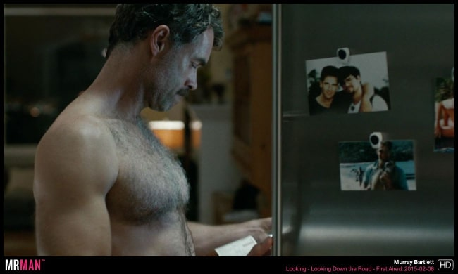 Murray Bartlett shirtless looking