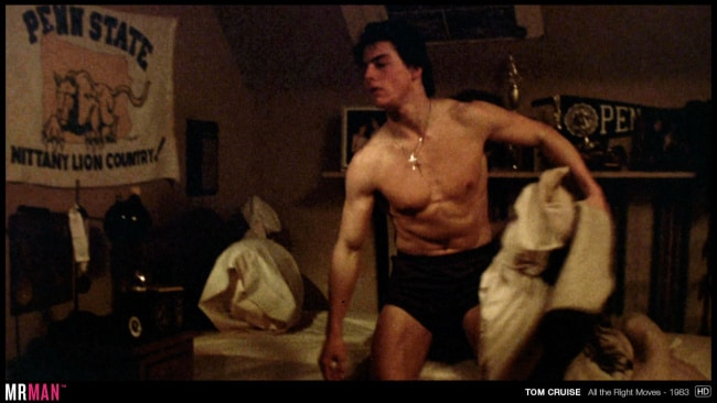 Tom Cruise underwear all the right moves