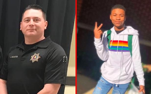Homophobic cop bullied teen