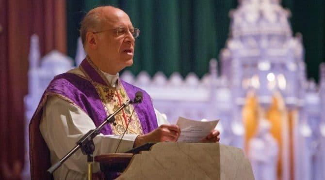 priest at altar