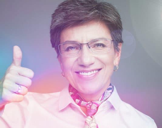 Claudia López Mayor of Bogota colombia