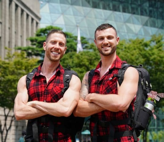 Tim and Rod on The Amazing Race Australia