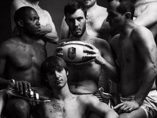 Gay-Friendly French Rugby Club Pose Naked for Annual Calendar